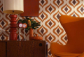 How to Beautify Your Living Room With a Vintage Wallpaper