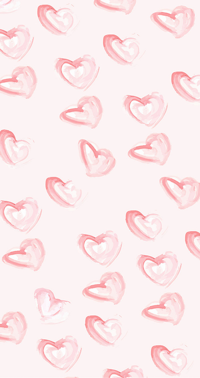 drawings of hearts in different shapes and sizes in pink why do we celebrate valentine's day light pink background