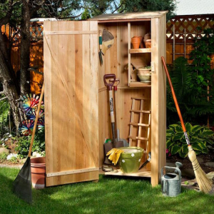 DIY Storage Space for Your Garden