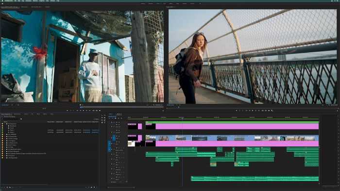 adobe premiere pro screenshot best video editing software video being edited