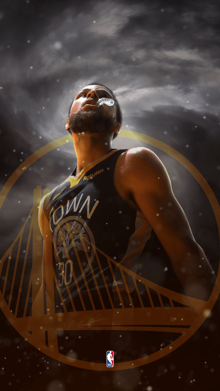 black and white background golden state warriors logo stephen curry nba wallpaper photo of steph wearing black uniform