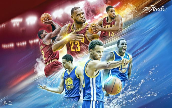 cleveland cavaliers golden state warriors finals stephen curry wallpaper lebron james kyrie irving tristan thompson steph curry klay thompson draymond green