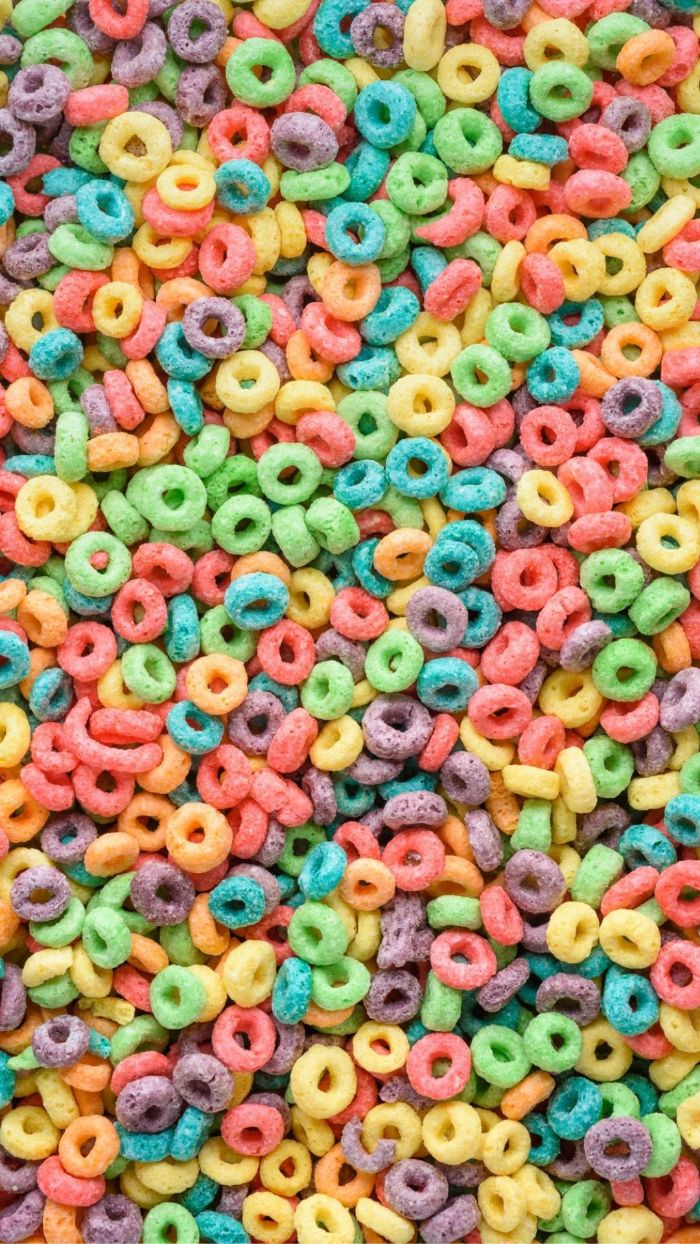 colorful cereal in all colors of the rainbow rainbow color wallpaper purple green yellow red
