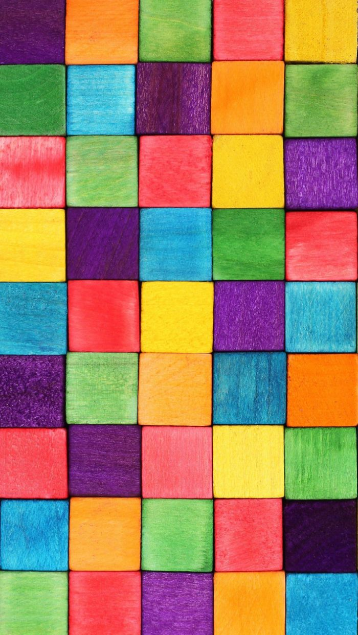 cubes arranged together in all colors of the rainbow pretty color backgrounds purple orange green red yellow blue