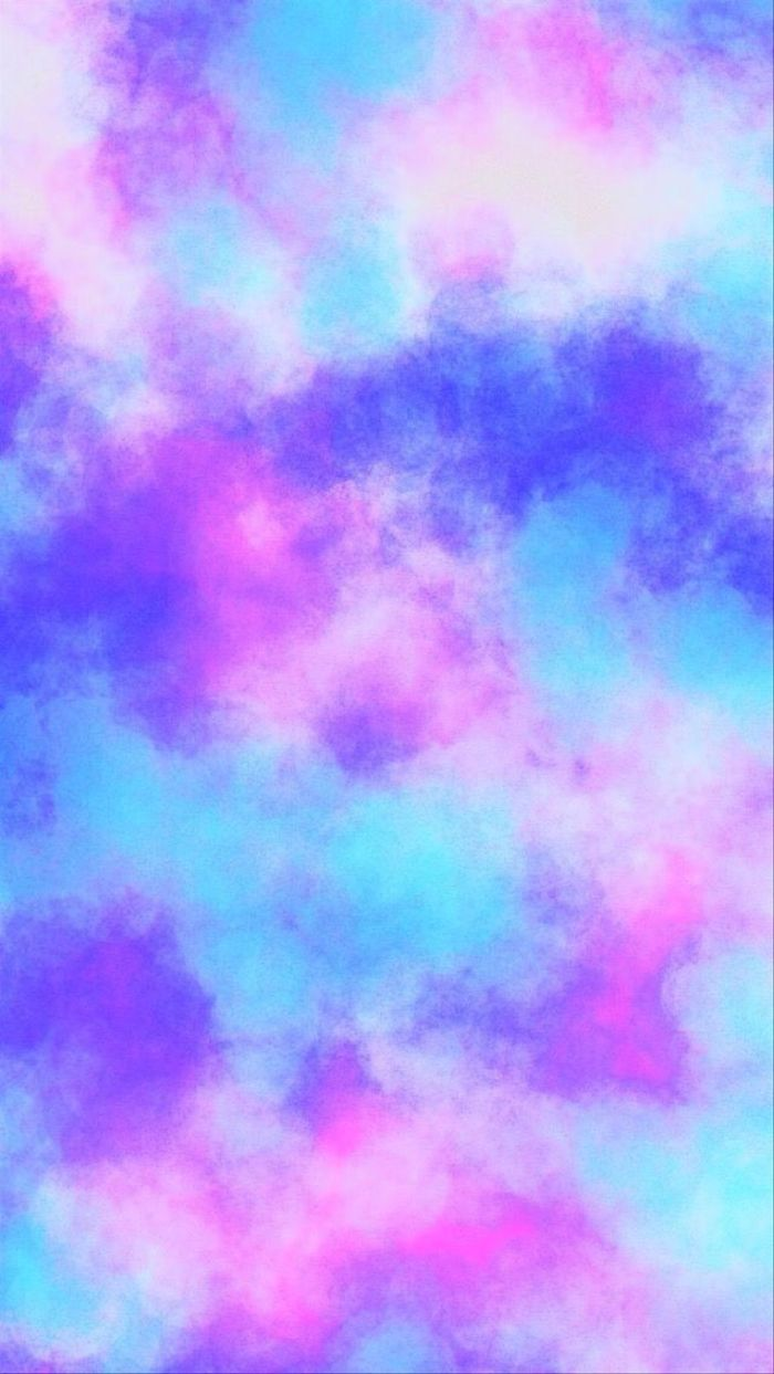 digital drawing of a sky with lots of clouds cool rainbow wallpapers gradient purple blue pink colors
