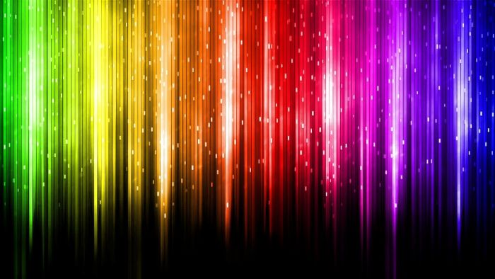 digital drawing of lines in the colors of the rainbow on black background rainbow wallpaper