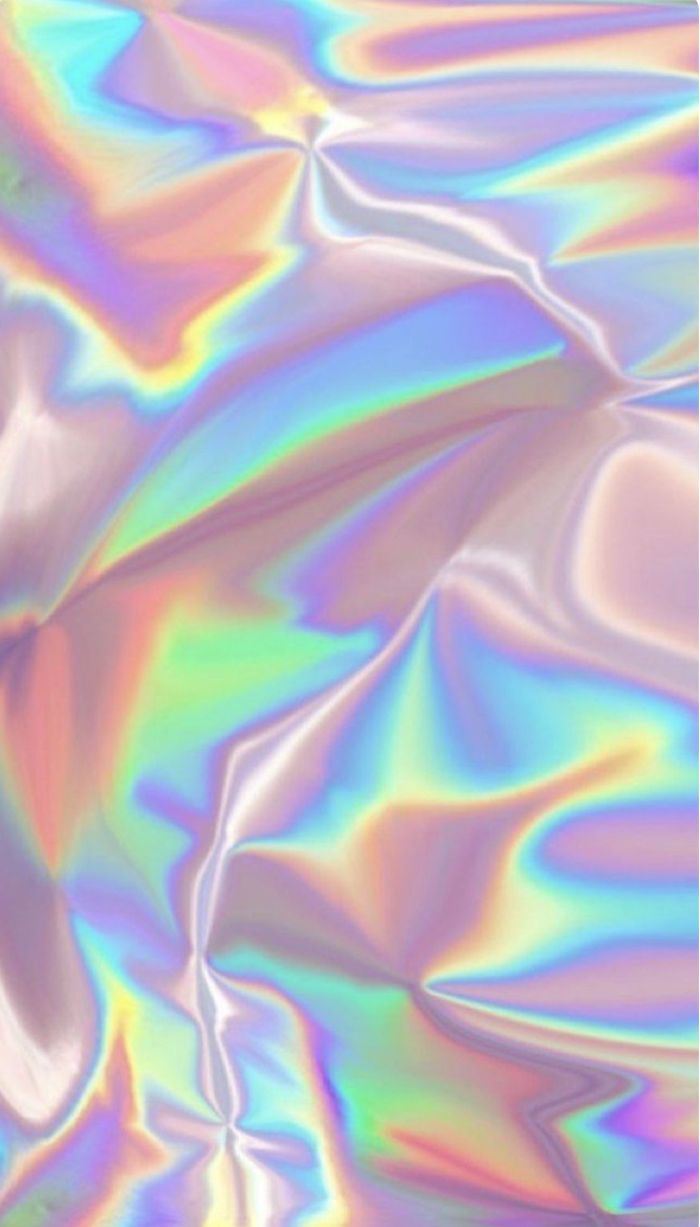 digital drawing of metallic look with different colors of the rainbow rainbow color wallpaper