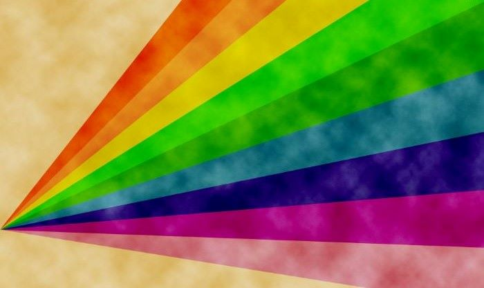digital drawing of rainbow pastel rainbow wallpaper orange yellow green blue purple pink