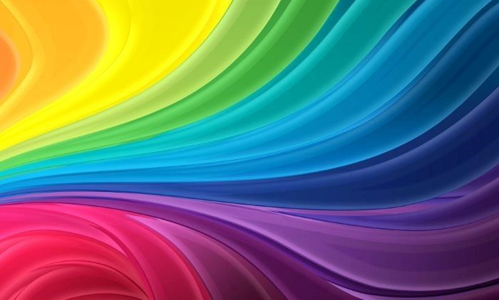gradient of all colors of the rainbow pastel rainbow wallpaper digital mixture of yellow green blue purple pink