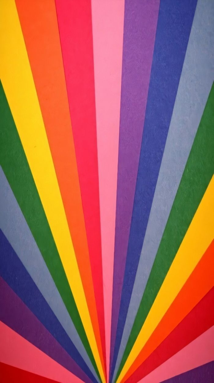 lines in all colors of the rainbow coming together in the middle pretty color backgrounds