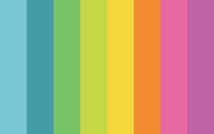 lines in blue green yellow orange pink purple cute rainbow wallpaper digital drawing of rainbow