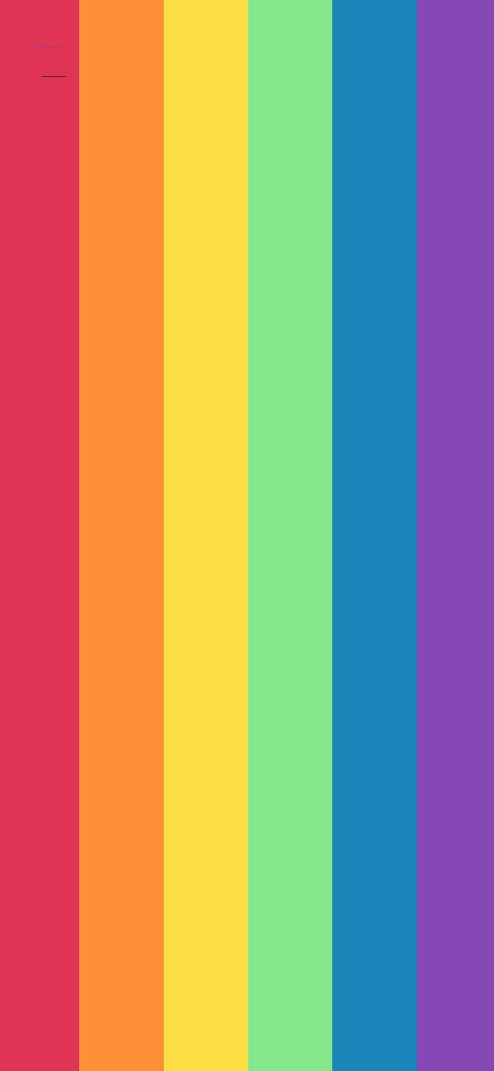 red orange yellow green blue purple lines drawn vertically pretty color backgrounds