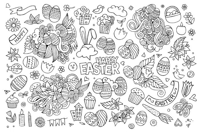 Easter Coloring Pages To Entertain Your Kids With - Architecture, Design &  Competitions Aggregator