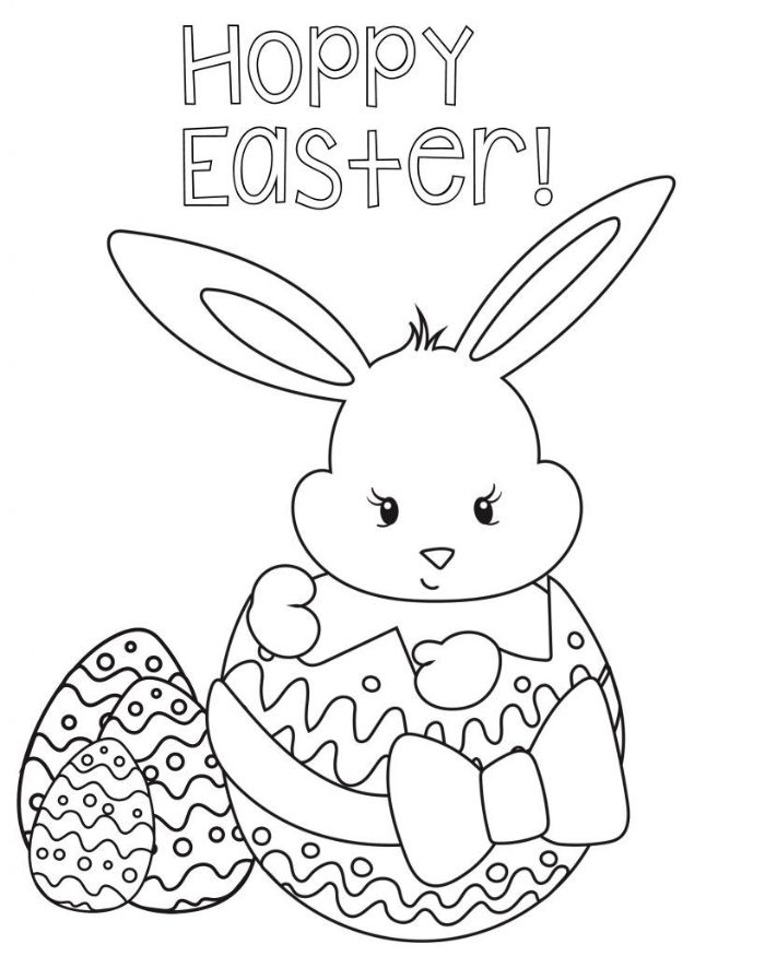 ▷ 1001+ Ideas For Easter Coloring Pages To Entertain Your Kids
