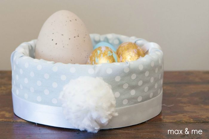 no sew easter basket easter basket ideas for adults filled with dyed easter eggs