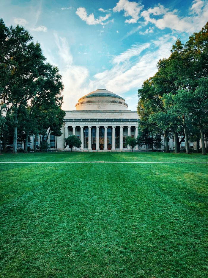 photo of massachusetts institute of technology main building best places to study architecture mit university