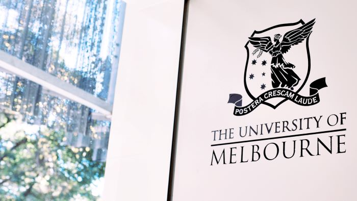 sign of the university of melbourne in australia best places to study architecture