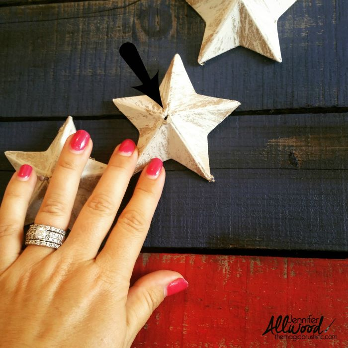 step by step diy tutorial 4th of july outdoor decorations wooden pallet american flag with stars