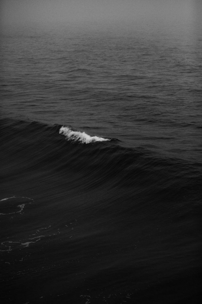 beach desktop backgrounds black and white photo of waves rising in the ocean