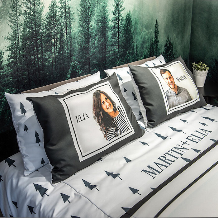 personalised pillows and ben linen personalise your home elia martin pillows with photos