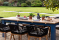 The Farmhouse Garden Table That's Transforming Our Outdoor Lockdown Living Spaces
