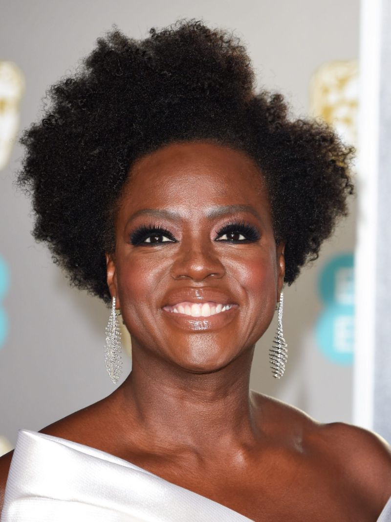 black curly hair youthful hairstyles over 50 viola davis