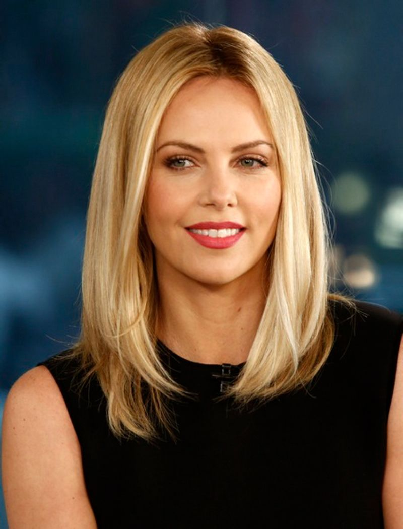 bob haircuts for women charlize theron blonde