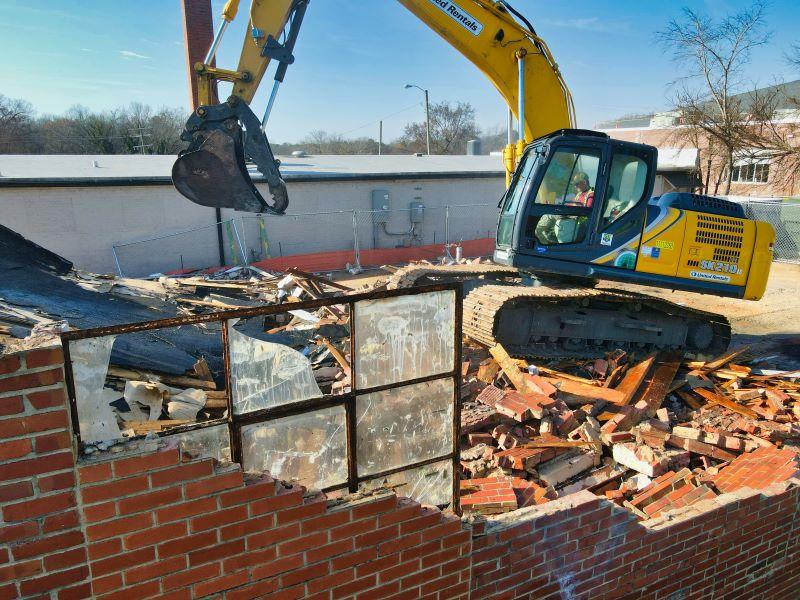 building being demolished remodeling expenses
