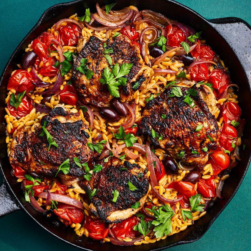 chicken what is mediterranean diet in skillet