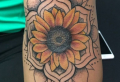 Sunflower tattoo ideas for the summer of 2021