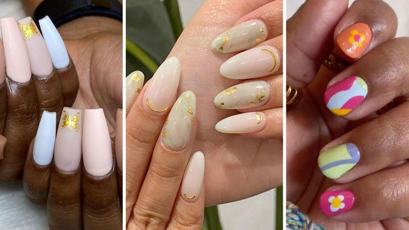 colorful nail polish cute nail ideas