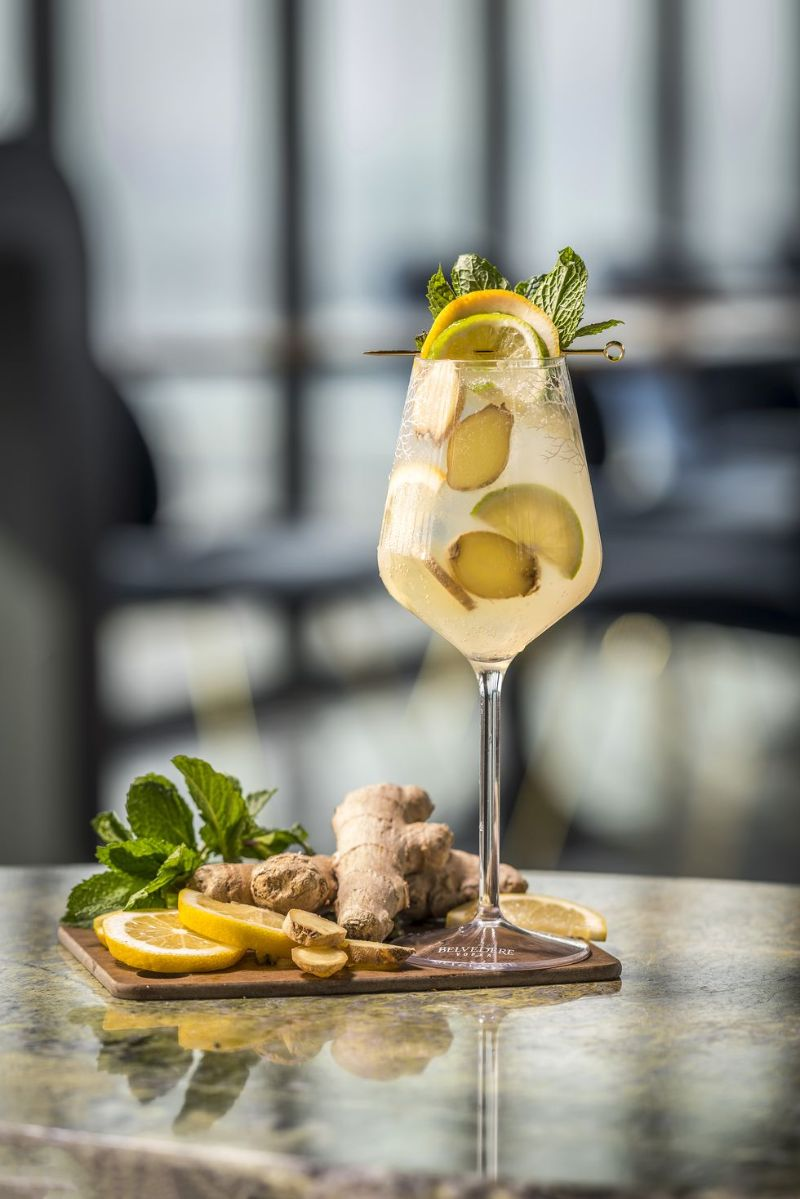 ginger zest spritz what to mix with vodka