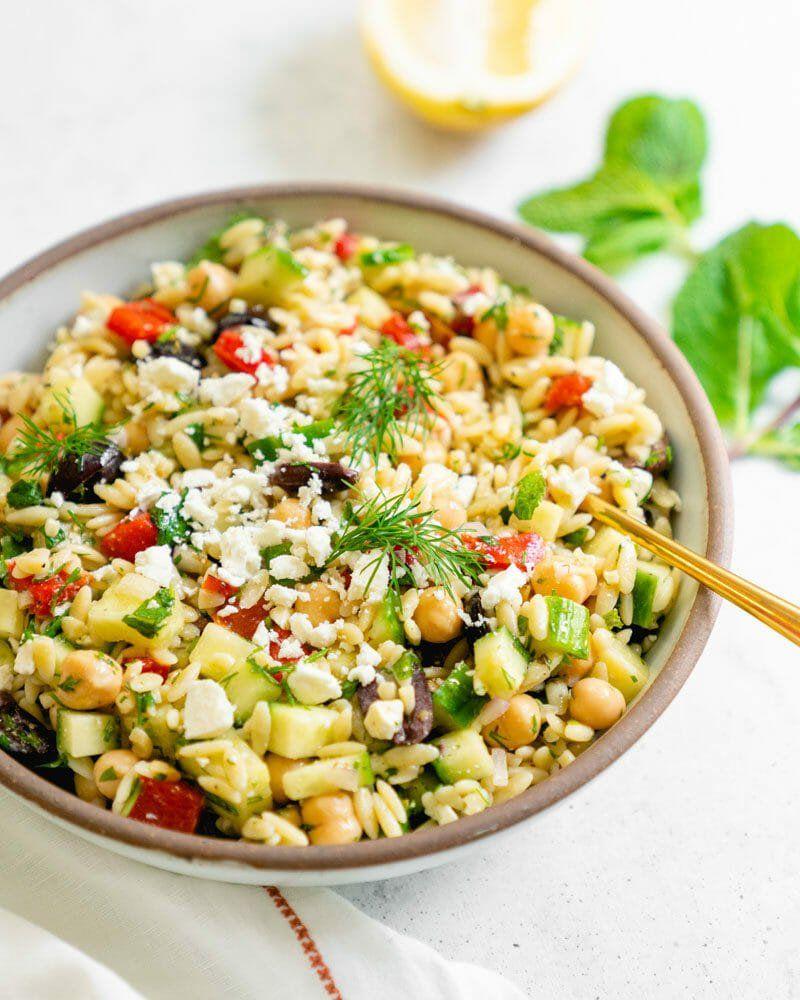 greek orzo salad what is mediterranean diet