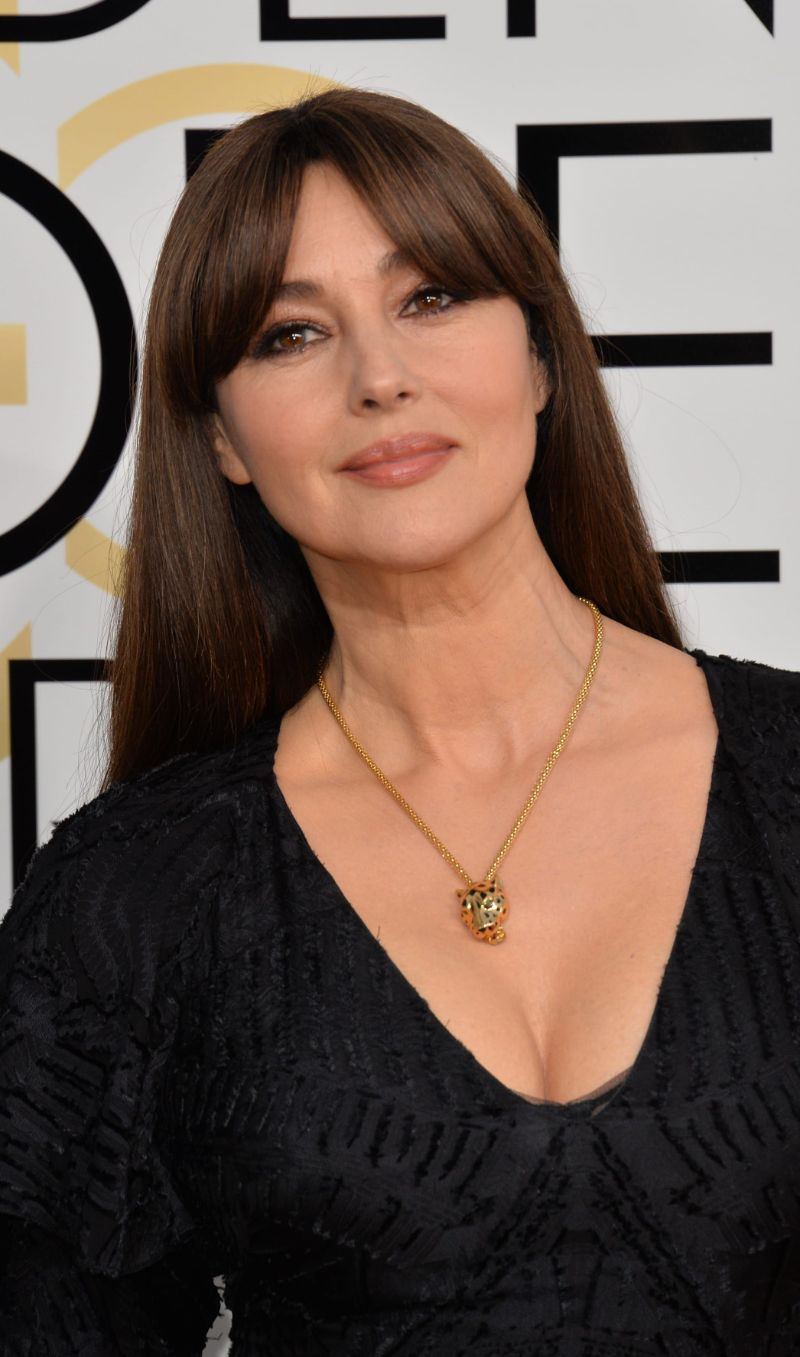 hairstyles for women over 50 monica belucci