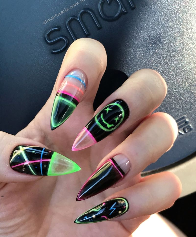 nail colors for summer 2020 colorful design
