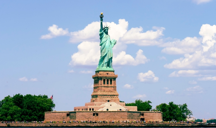 place to visit in the usa statue of liberty sky garden water travel adventure things to see