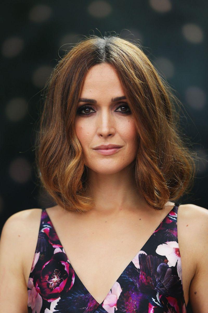 rose byrne shoulder length short hair styles