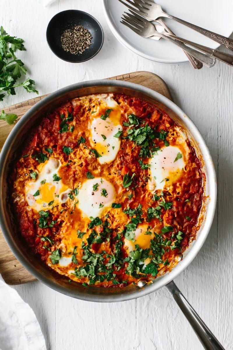 shakshuka mediterranean diet recipes skillet