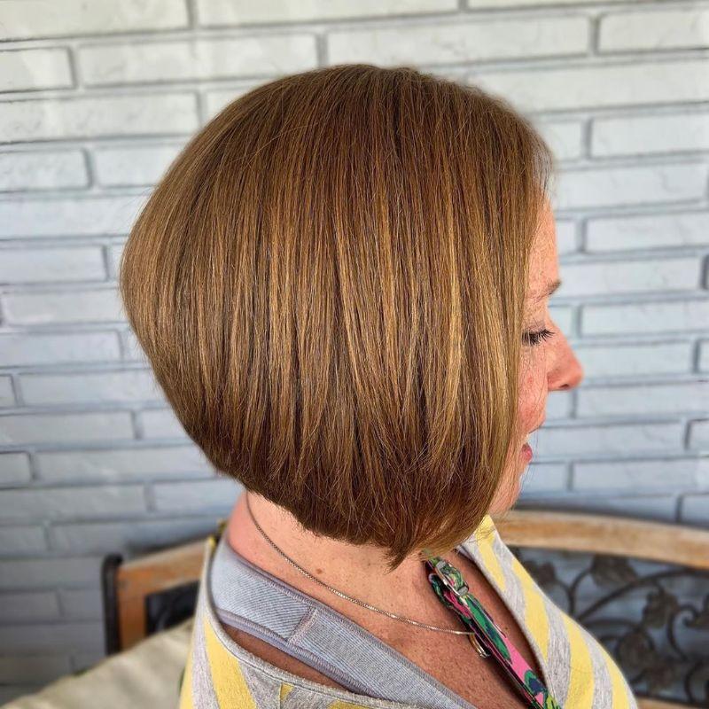 short asymmetrical bob short hairstyles for women