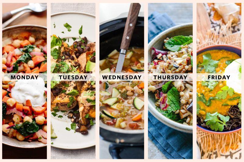 week meal plan mediterranean diet breakfast