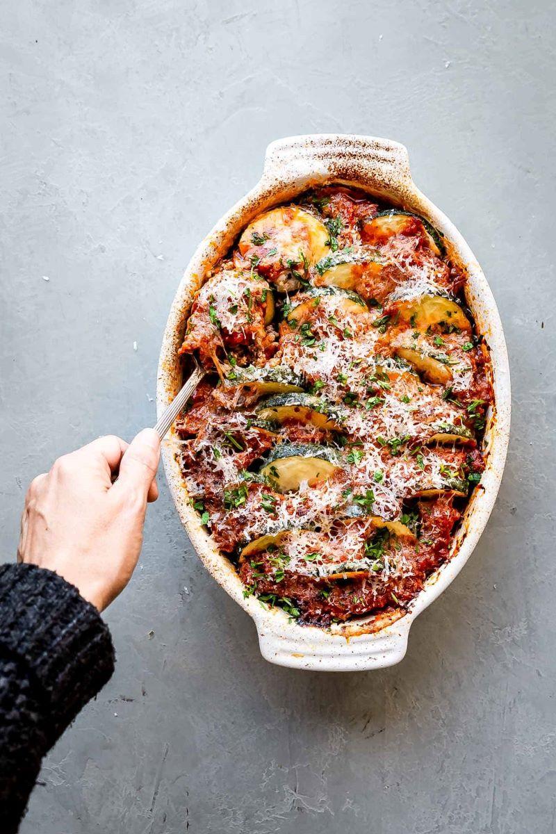 best zucchini recipes and sausage casserole
