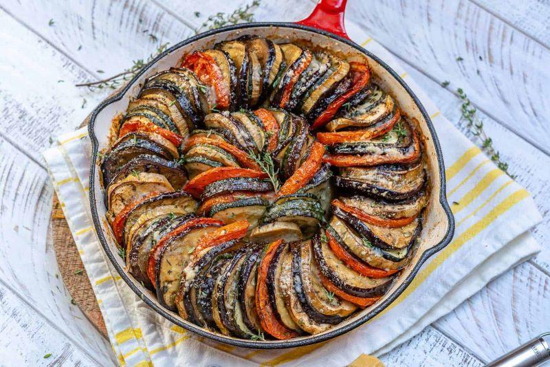 eggplant and zucchini gratin best zucchini recipes