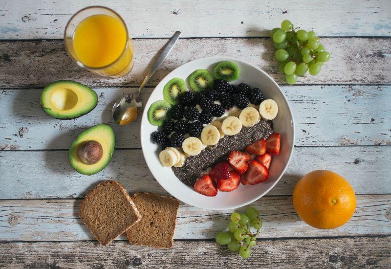 fresh fruit salad plant based diets