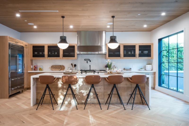 kitchen design boost the value of your home kitchen island