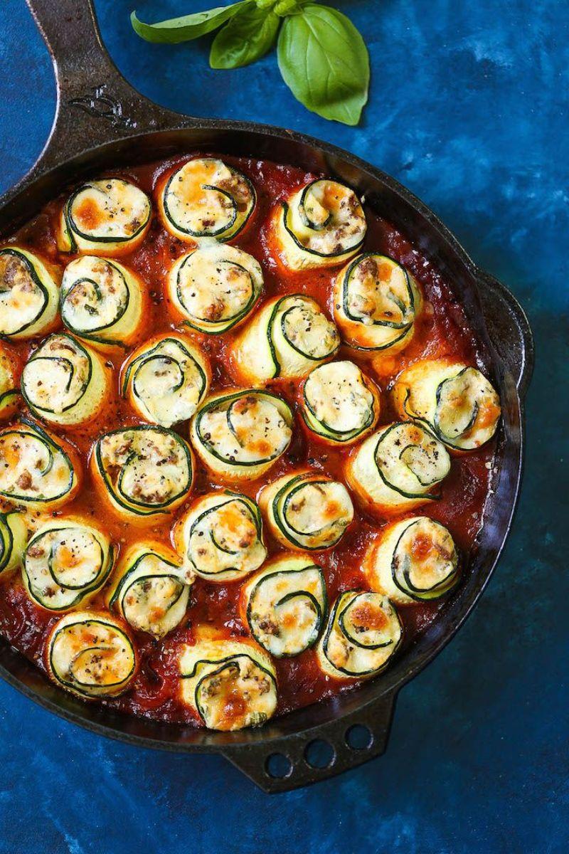 lasagna rollups zucchini and squash recipes