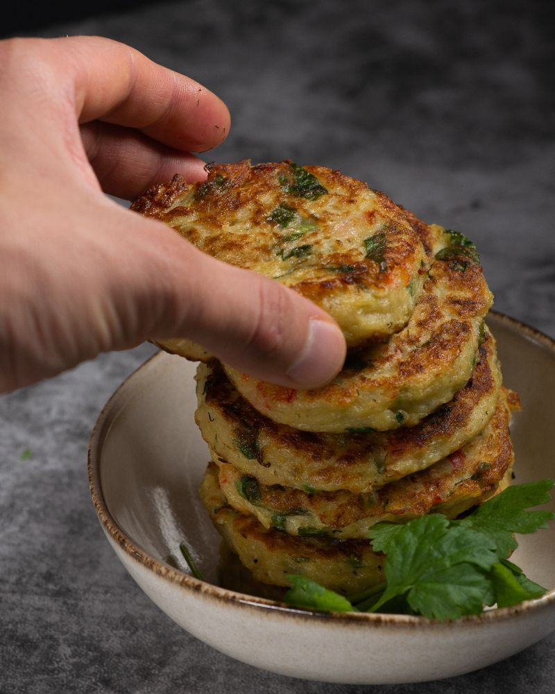 shredded zucchini recipes stacked on top of each other
