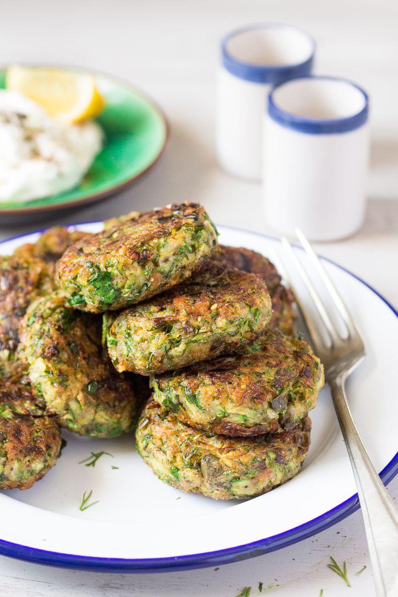 vegan greek shredded zucchini recipes