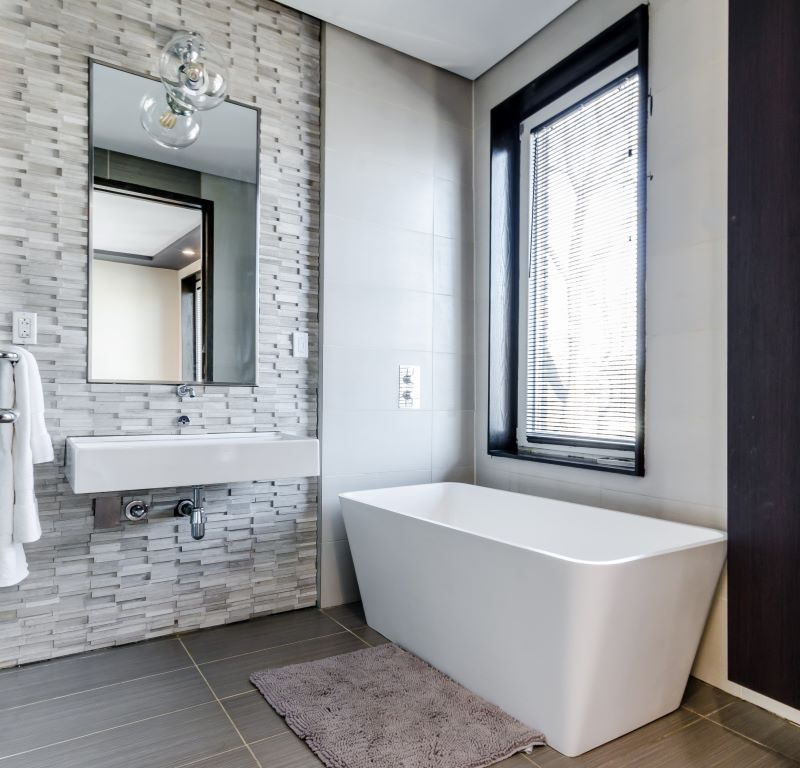 white bathroom design boost the value of your home