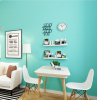 blue wall redesigning your home desk sofa