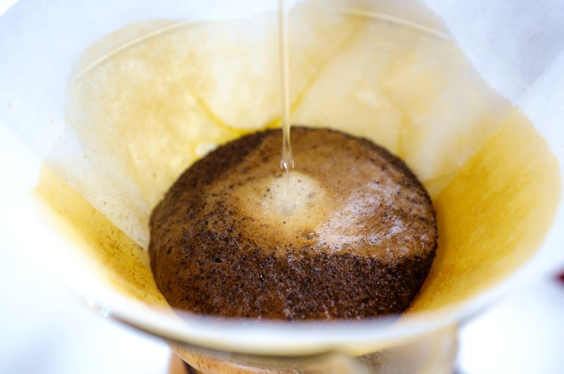 brewing coffee coffee grounds for plants